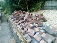 Around 200 bricks free