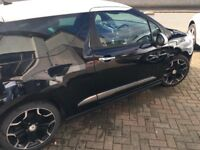 Citroen DS3 Black with low mileage bargain. First to see will wantit