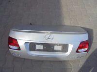 Lexus Gs450H back Tailgate + camera. GS 450H Parts: engine, gearbox, seats, bumper, front, wheels