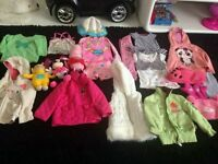 bundle clothes toys minnie peppagirl 2-3 years used good condition 21 items