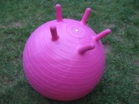 Gaiam kids bounce ball (pink)