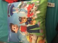 Paw Patrol cushions x2 Can be sold separately