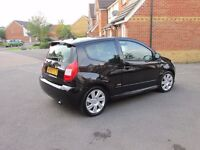Citroen C2 1.6HDi VTS Very low mileage. A lovely car with great economy and nippy performance.