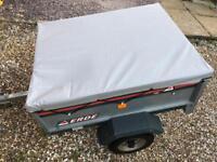 Erde car trailer tipper type ideal for tip runs