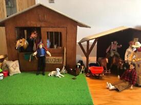 Breyer Horse Set