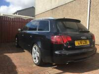 Audi A4 estate diesel estate 2006 (56) with private plate. Rs may swap 4x4 Volvo