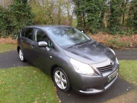 TOYOTA VERSO 2.0D-4D T2*7 SEATS*FULL HISTORY*FINANCE AVAILABLE*