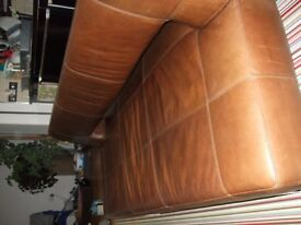 Leather Sofa Bed Good condition