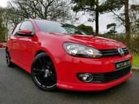 Sep 2010 Mk6 VW Golf 1.6 Tdi SE (Tornado Red) Body Kit! GTD Alloys! £30 TAX! STUNNING CAR! Only 83K!