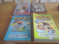 Pokémon and shonnen jump pulp graphic novels
