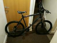 Trek 4500 mountain bike with hydraulic brakes and large frame