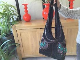 Indian sequin bag