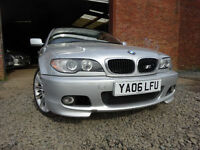 06 BMW 318CI M SPORT AUTOMATIC 2.0 CONVERTIBLE,MOT MARCH 018,2 OWNERS,2 KEYS,POWER-HOOD,PART HISTORY