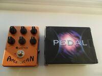 "Joyo ""American Sound"" Electric Guitar Effects Pedal"