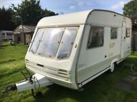 Caravan 4/5/6 berth Swift rapide 1993 lovely condition awning available