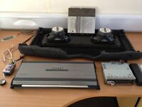ICE Job Lot Bundle In Car Entertainment Audio Subwoofer Amp CD Player JV Kenwood Tweeter Focal Comp