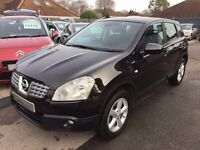 2009/09 NISSAN QASHQAI 1.5 DCI ACENTA 5 DR , BLACK,HIGH SPEC,GREAT ECONOMY,DRIVES WELL