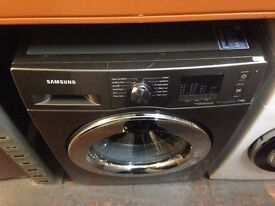 SAMSUNG 7KG ECO BUBBLE WASHING MACHINE GRAPHITE RECONDITIONED