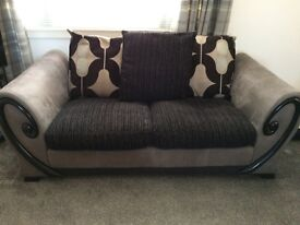 Grey and Black Sofa for sale