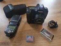 Canon EOS 5D mk 1 Digital SLR Camera ULTIMATE Full frame starter kit BUNDLE