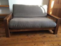 Futon Company sofa bed (2 seater)