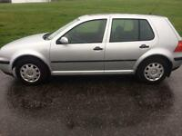 VW GOLF 1.4 LOW MILES £900