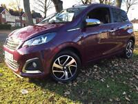 PEUGEOT 108 PURE TECH ALLURE TOP CONVERTIBLE 20K FSH £5195 ono