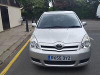Toyota Corolla Verso 2.0 Silver 5dr hatchback Manual Diesel MOT Oct2017 ful service history 1owner