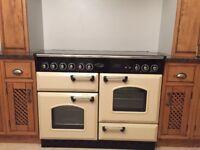 Rangemaster cooker and smeg fridge freezer