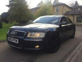 2004 53 Audi A8 3.7 V8 Quattro+FSH+Loaded Spec+HPI CLEAR+PX+SWAP