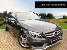 Mercedes-Benz C Class C250 D AMG LINE PREMIUM PLUS (grey) 2016-06-21