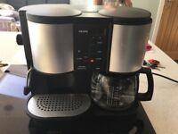 Krups coffee machine, Cappuccino and Espresso maker