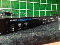 ALESIS QUADRAVERB DIGITAL EFFECTS PROCESSOR - FOR SPARES OR REPAIR