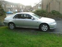 Rover 75 1.8T SE .Only 52,000 miles, 7 months MOT,