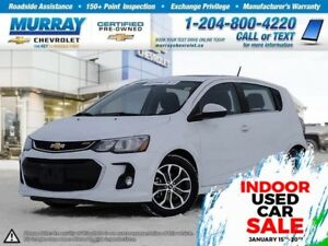2017 Chevrolet Sonic LT Auto *Heated Seats, Remote Start*
