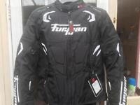 Furygan Motorcycle jacket and trousers. (Textile and waterproof)