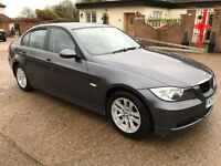 BMW 320I SE 4 door saloon E90 2005/55 grey
