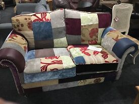Brand new Patchwork 2 seater cookstown/omagh/magherafelt/dungannon