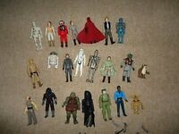VINTAGE STAR WARS FIGURES