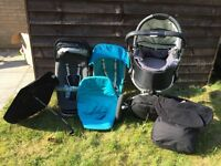 Quinny Buzz Pushchair Travel System in good used condition from a pet and smoke free home.