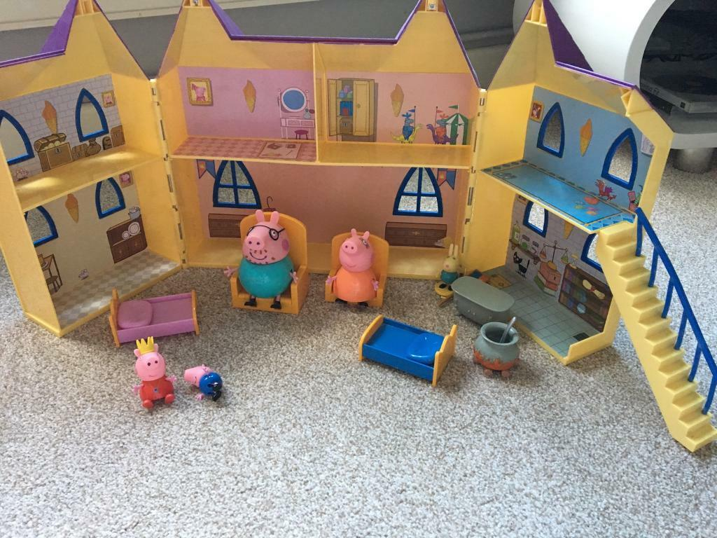 Peppa pig princess castle.