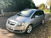 Vauxhall Zafira Low Mileage