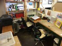 Studio Space in Creative Shared Studio - Central Brighton