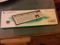 Logitech Washable USB Keyboard K310 - Brand New. RPP £39.49 current market price.
