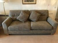 Large sofa and armchair, excellent condition, lightly used, Bought for £2000!