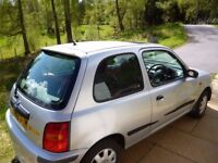 Nissan Micra Inspiration 1.0 (LOW MILES 43,000) (Parts or repair)