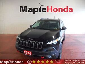 2016 Jeep Cherokee Trailhawk| Loaded Features, All-Wheel Drive!