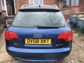 Audi A4 Sline for sale. Comes with Full service history and 2 keys.