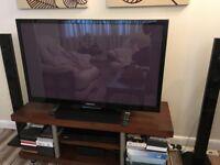 Plasma Samsung TV with Surrounding System
