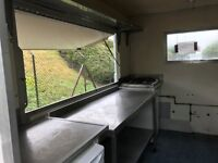 Catering Trailer with pitch on Badentoy Industrial Estate